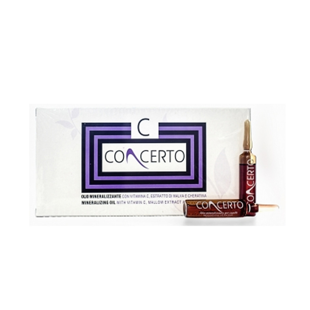 Масло для волос Concerto Mineralizing Oil 10 ампул по 10 мл