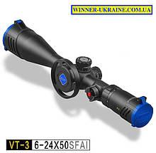 Оптический прицел Discovery VT-3 FFP 6-24*50 SFAI