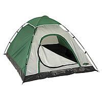 Палатка 4х-местная 205х205х140 см, туристическая четырехместная палатка