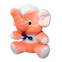 Мягкая игрушка Мамонт Федя персиковый