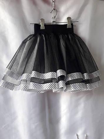 Детская юбка нарядная для девочки 104-122 , фото 2