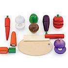 Игрушечный набор овощей Viga Toys (56291), фото 4