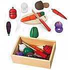 Игрушечный набор овощей Viga Toys (56291), фото 5