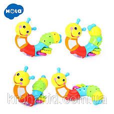 """Развивающая игрушка для малышей """"Гусеница"""" HOLA 786B, фото 2"""