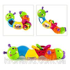"""Развивающая игрушка для малышей """"Гусеница"""" HOLA 786B, фото 3"""