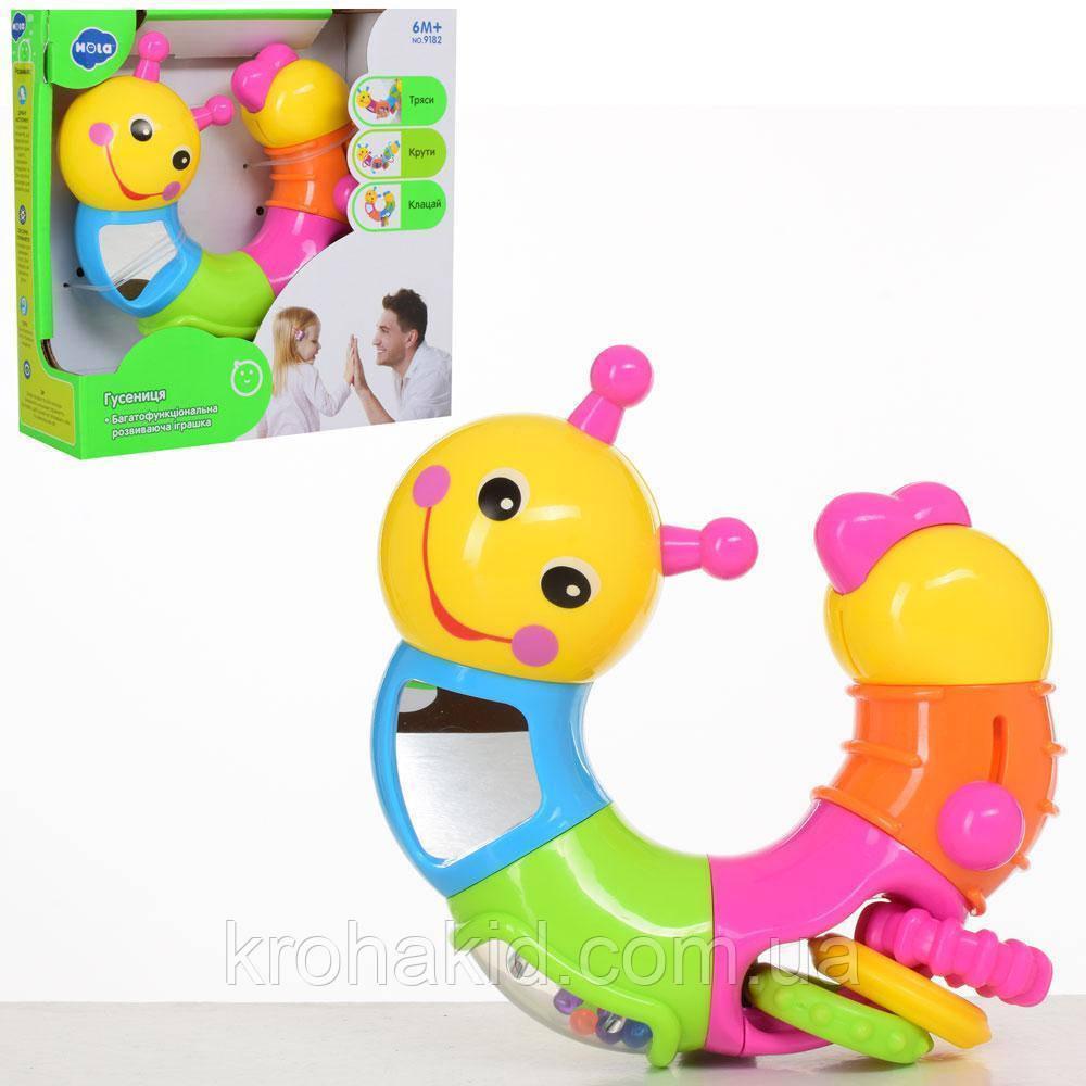 """Развивающая игрушка для малышей """"Гусеница"""" HOLA 786B"""