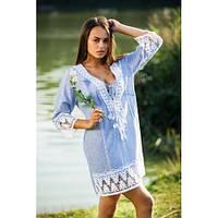 Элегантная туника платье для молодой женщины, р-ры S-XL, 596/546 (цена за 1 шт. + 50 гр.)