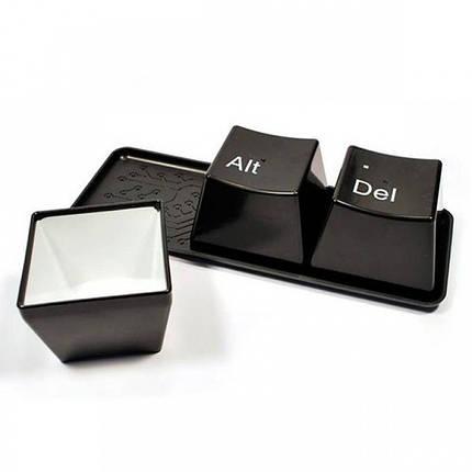 ✅  Оригинальные чашки кнопки Ctrl Alt Del, фото 2