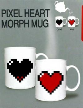 ✅  Чашка-хамелеон Like сердце