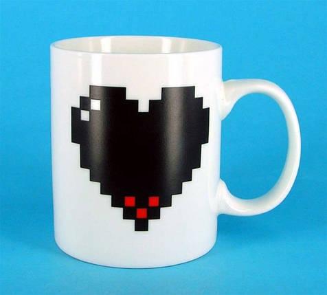 ✅  Чашка-хамелеон Like сердце, фото 2