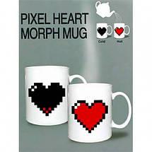 ✅  Чашка-хамелеон Like сердце, фото 3