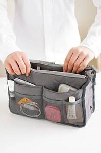 ✅  Органайзер Bag in bag maxi серый