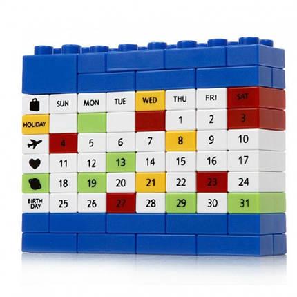 ✅  Вечный Календарь PUZZLE Blue, фото 2