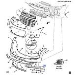 Бампер передний губа левая, Каптива C140, 95489537, фото 4