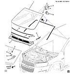 Уплотнитель ветрового стекла, Каптива C140, 96622306, фото 5