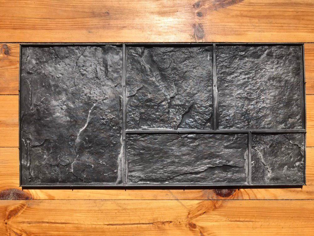 """Резиновый штамп """"Сланец №2"""" для печати по бетону 710*350 мм"""