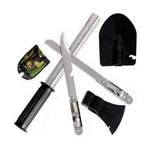 ✅  Набор походный 5 в 1. Лопата, открывашка,пила, топор, нож