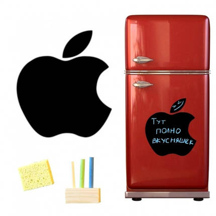 Магнитная доска для мела Apple 40*43см., фото 2