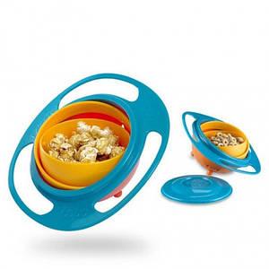 ✅  Детская тарелка неваляшка Gyro Bowl