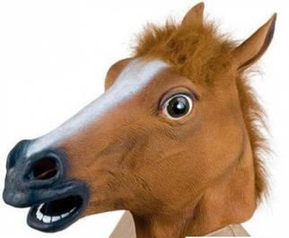 ✅  Маска голова лошади (коня)