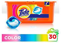 Капсулы для стирки цветного Tide Go Pods Color 3в1 30 капс.
