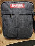 (Новый стиль)Барсетка Supreme Сумка спортивные мессенджер для через плечо Унисекс ОПТ, фото 2