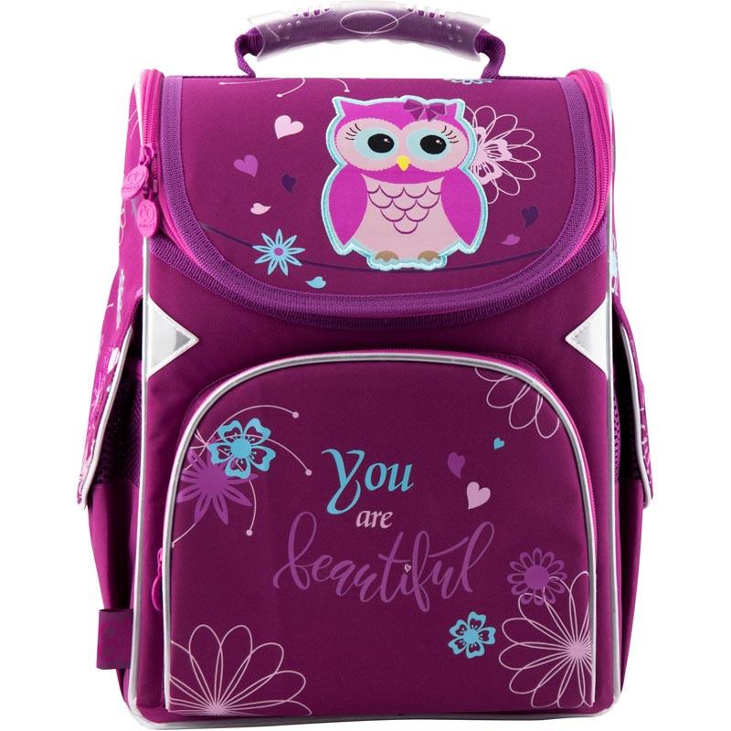 Рюкзак школьный каркасный GoPack 5001-5