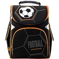 Рюкзак школьный каркасный GoPack Футбол  GO19-5001s-8