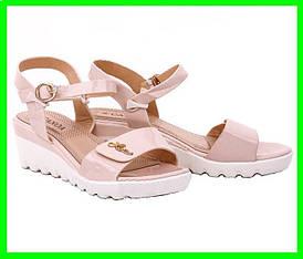 Жіночі Сандалі Босоніжки CANOA Літнє Взуття Бежеві ( 38р )