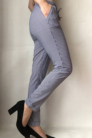 Женские летние штаны N°17 Пл. синя, фото 2