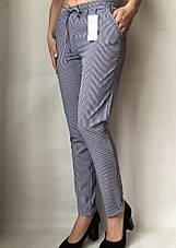 Женские летние штаны N°17 Пл. синя, фото 3