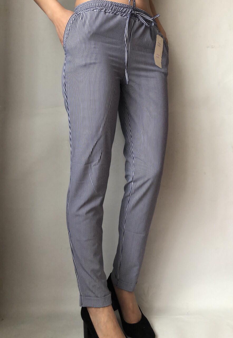 Женские летние штаны N°17 Пл. синя