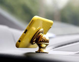 ✅  Магнитный держатель телефона в авто на липучке