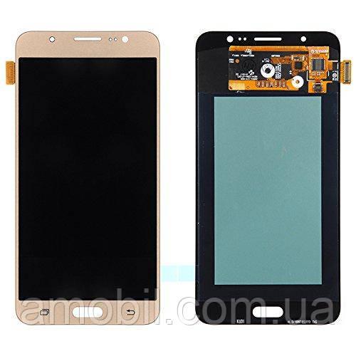 Дисплей + сенсор Samsung Oled J710 / J710H / J710F / J710FN  Galaxy J7 2016 Gold orig