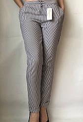 Женские летние штаны N°17 Пл. (чорные)