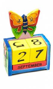 ✅  Вечный Календарь Цветущая Бабочка