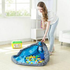 ✅  Сумка - коврик 120см для игрушек