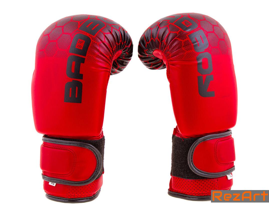 Боксерские перчатки Bad Boy DX (8-12oz). Красный с черным