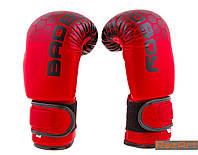 Боксерские перчатки Bad Boy DX (8-12oz). Красный с черным, фото 1