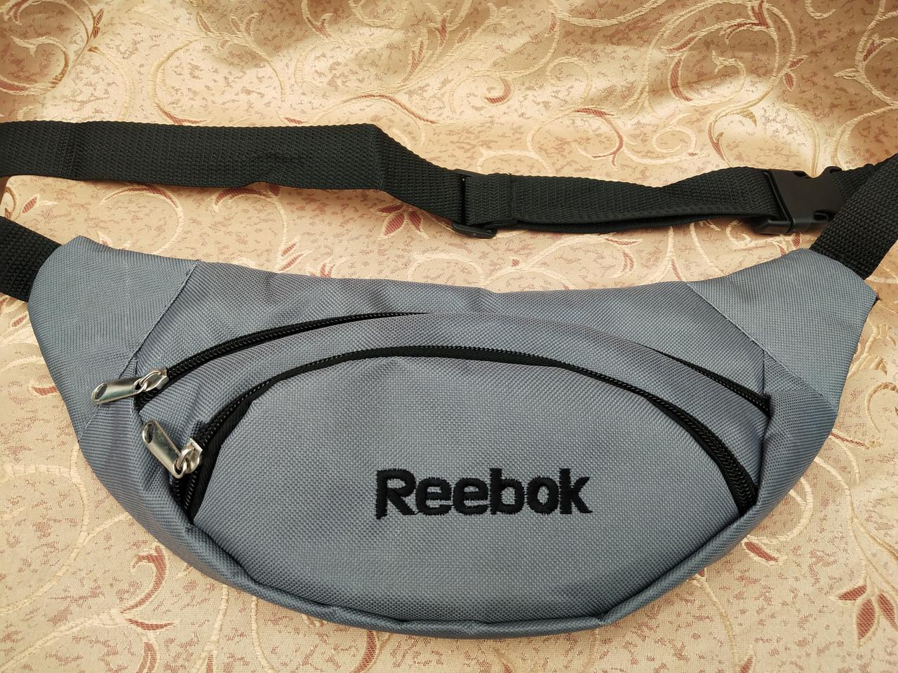 Сумка на пояс reebok 600D/Спортивные барсетки сумка женский и мужские пояс Бананка оптом