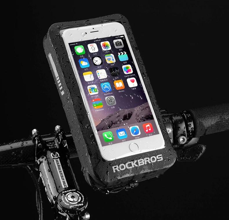 Чохол для телефону з кріпленням на кермо, водонепроникний
