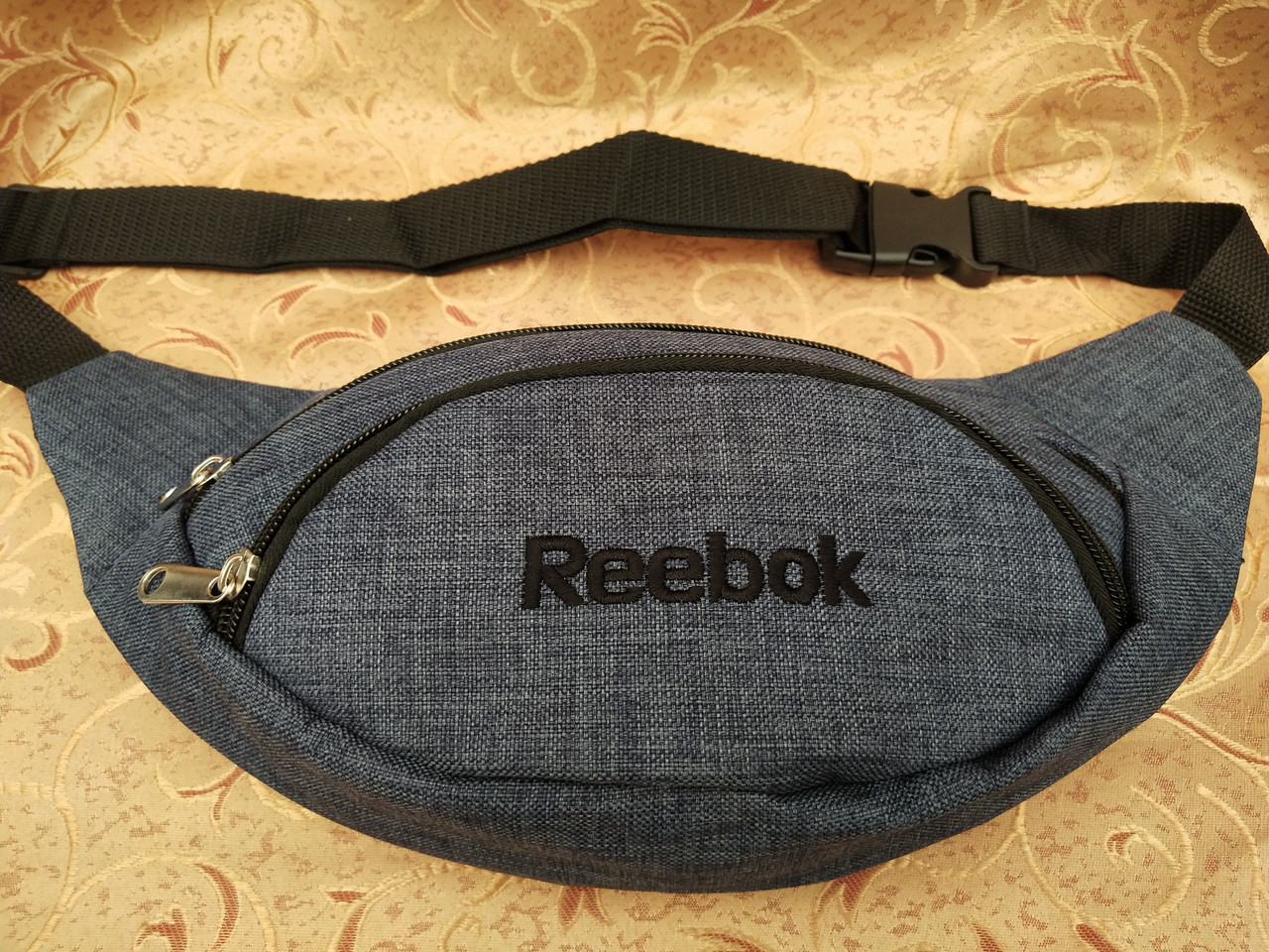 Сумка на пояс reebok ткань мессенджер pvc спортивные барсетки сумка бананка только опт
