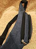 Сумка на пояс reebok ткань мессенджер pvc спортивные барсетки сумка бананка только опт, фото 3