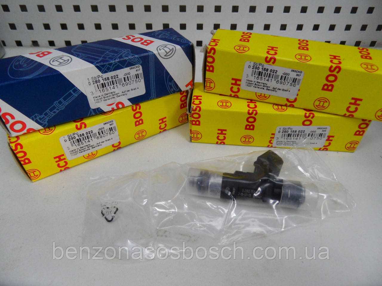 Форсунка бензиновая Bosch ВАЗ Калина 0280158022, 0 280 158 022,