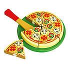 Игрушечная игровая пицца Viga Toys игровой детский набор (58500), фото 2