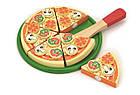 Игрушечная игровая пицца Viga Toys игровой детский набор (58500), фото 4