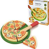 Игрушечная игровая пицца Viga Toys игровой детский набор (58500)