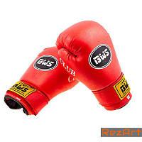 Боксерские перчатки CLUB BWS (4-6oz) красный