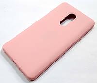 Чохол Silicone Case для Xiaomi Redmi Note 4X рожевий