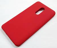 Чохол Silicone Cover для Xiaomi Redmi Note 4X червоний